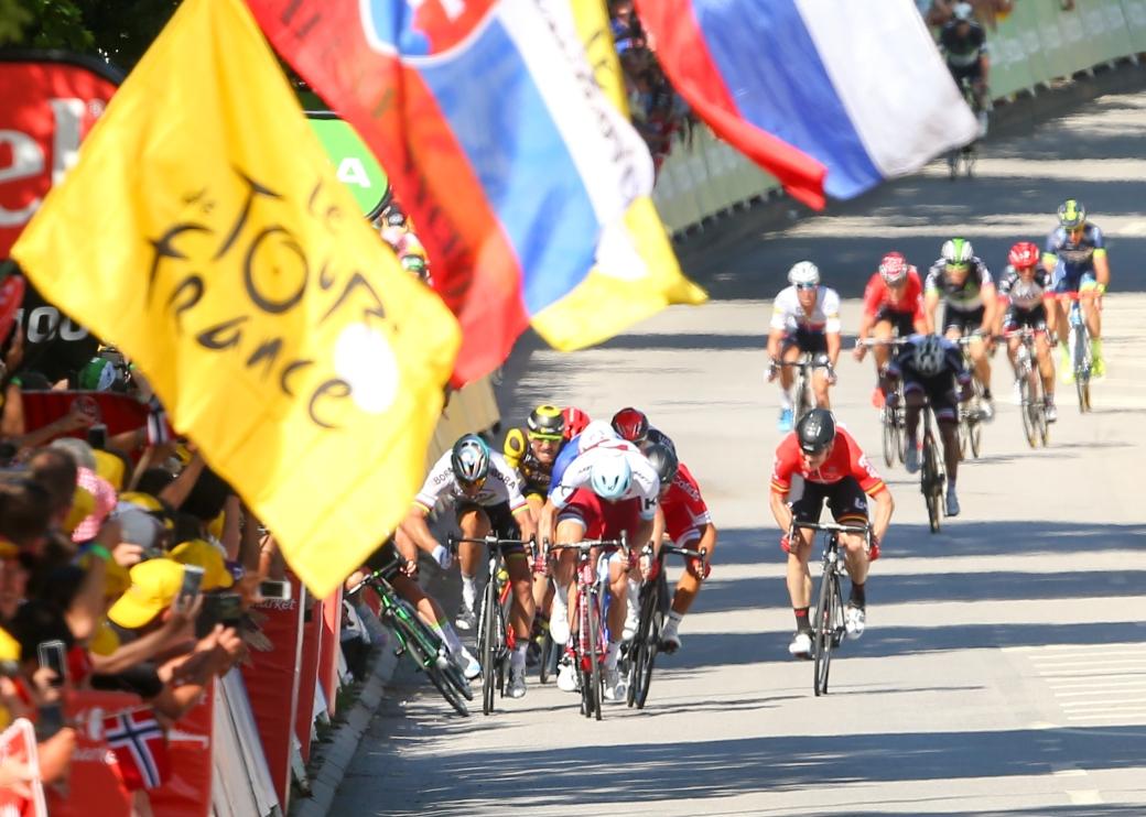 Tour de France 2017  Stage 4 Mondorf Les Bain Vittel Britains Ma
